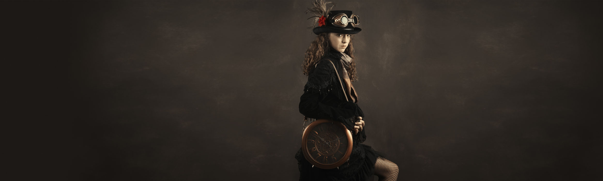 Steampunk photography for children