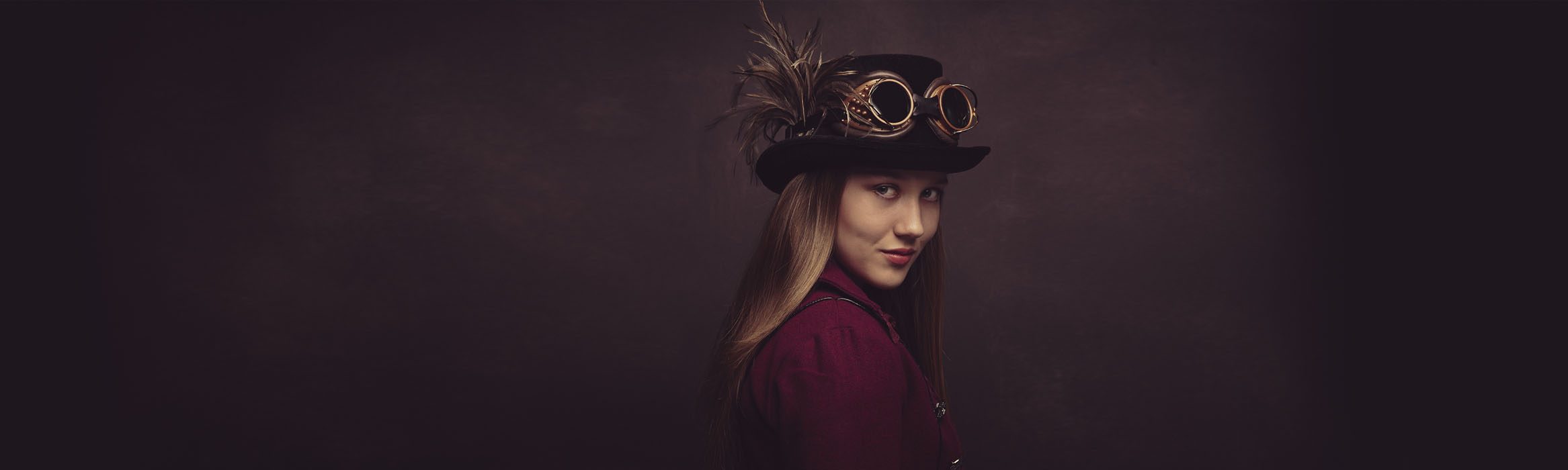 Child steampunk portraits