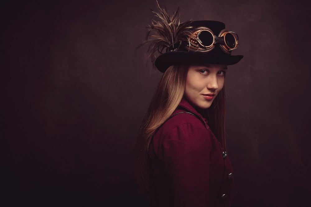 children's portraits steampunk