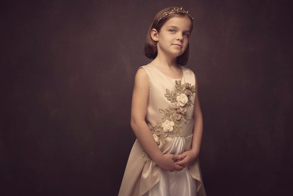 children's portraits for Fleur