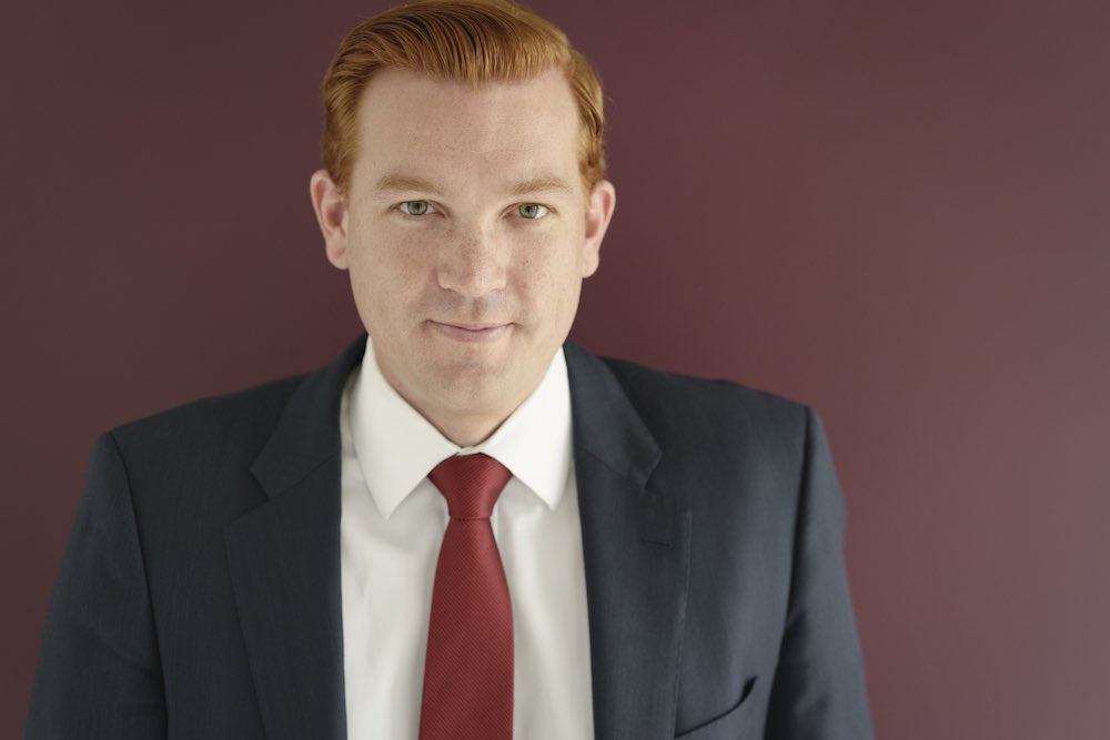 Corporate headshots for Ryan real esate agent