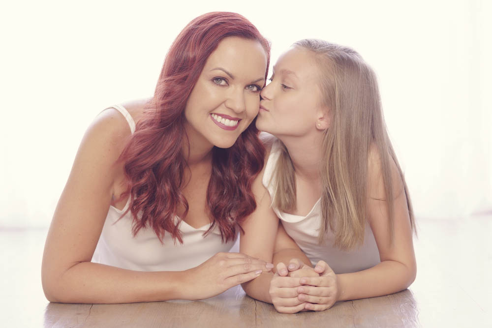 Mother and daughter photography sessions