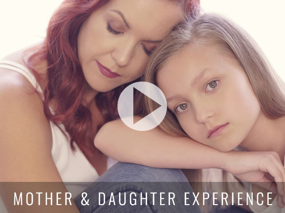 Mother daughter 1a