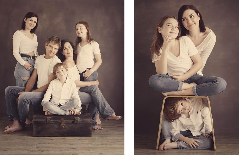 Family photos groups