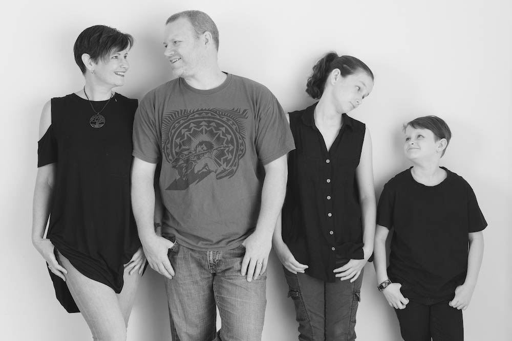 Stanley family portraits featured