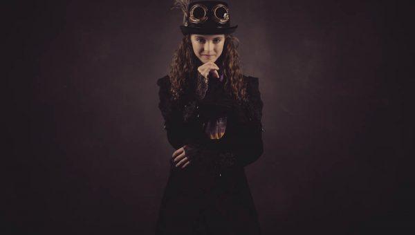 Steampunk teen photography