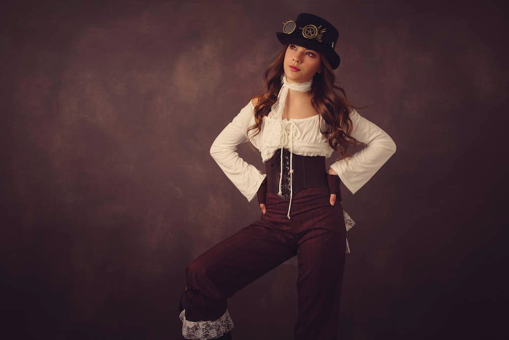 Steampunk photo session with Rhiannon Walters
