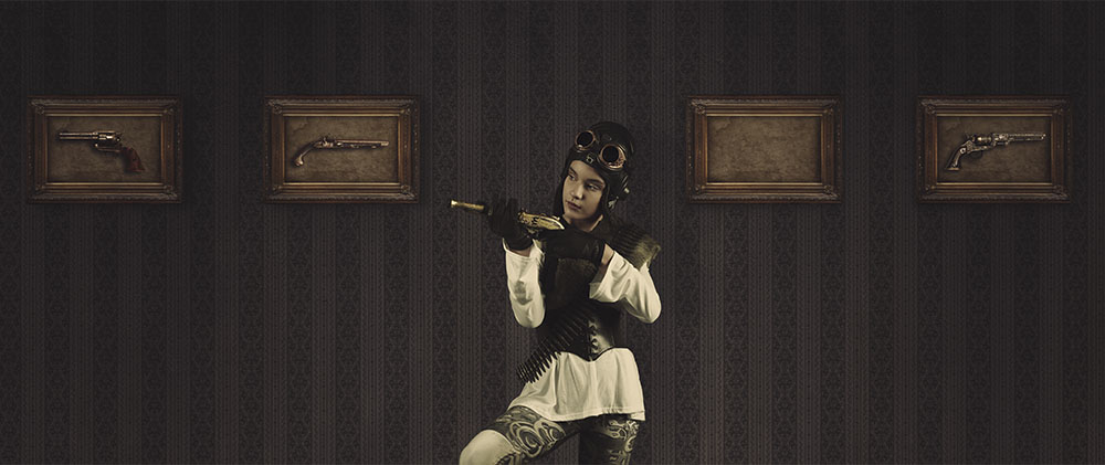 Digital steampunk photography 001