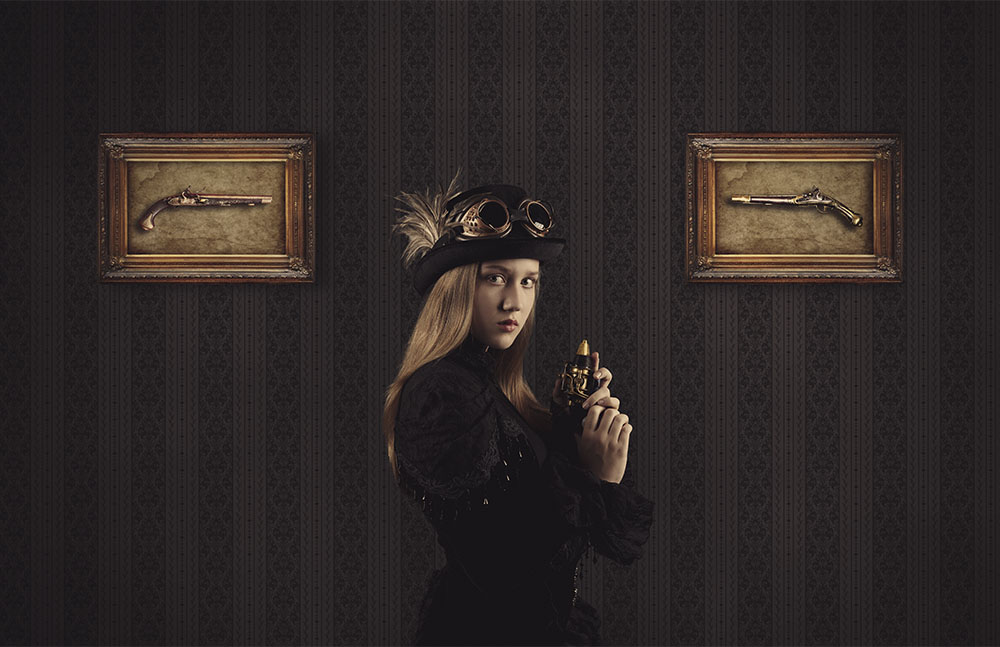 Digital steampunk photography 004