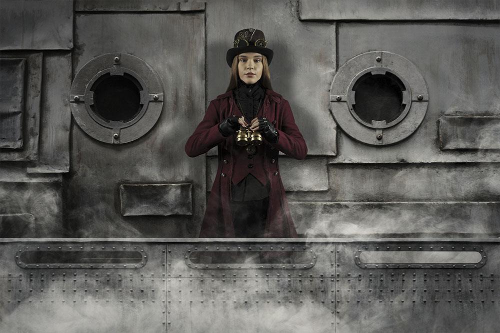 Digital steampunk photography 009