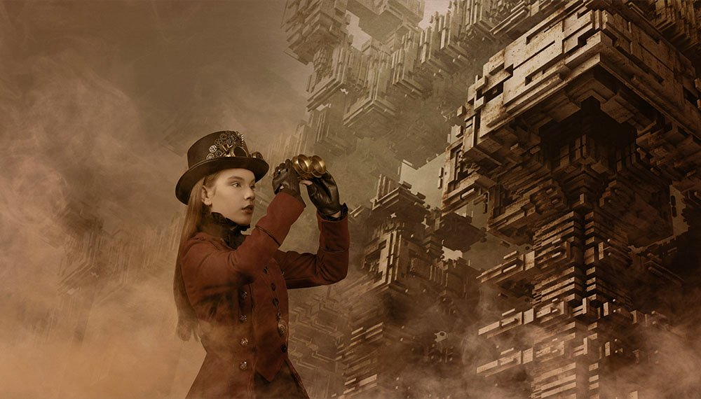 Digital steampunk photography 010