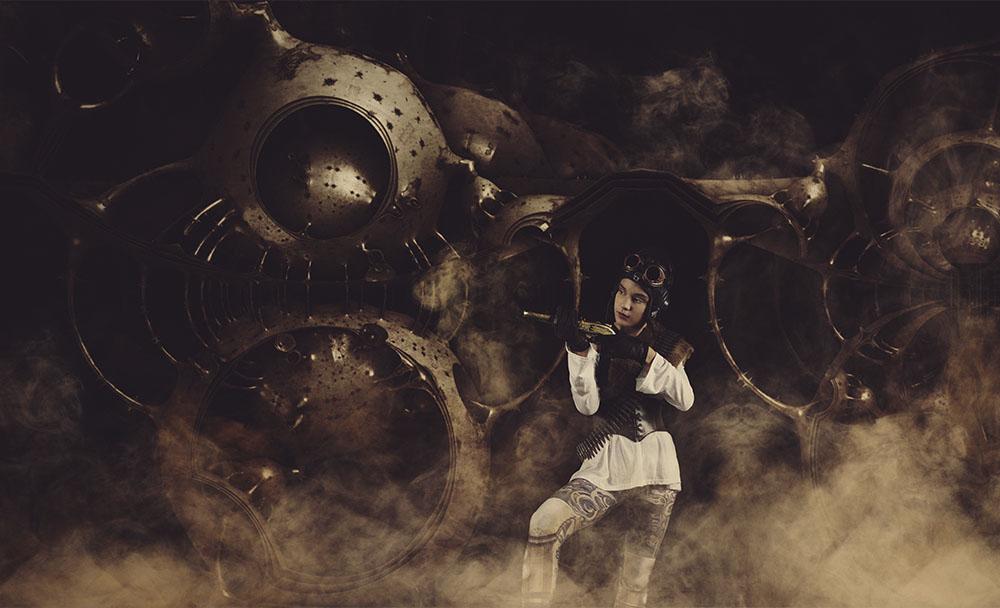 Digital steampunk photography 011