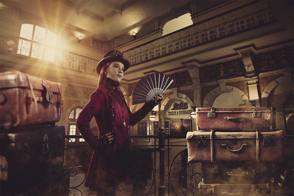 Digital steampunk photography 012