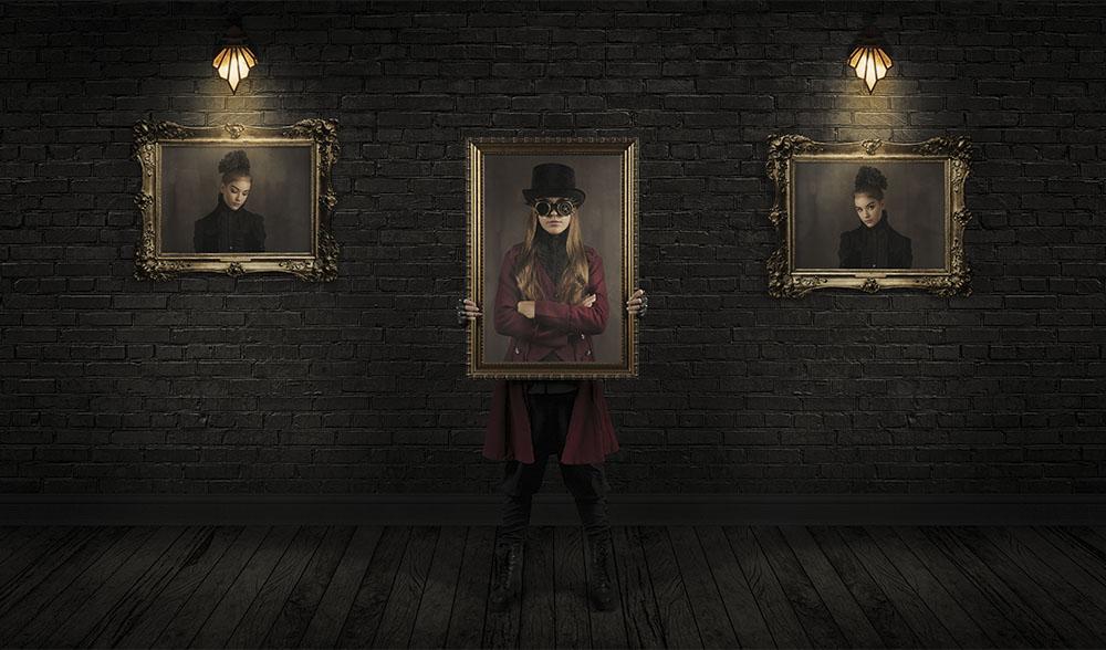 Digital steampunk photography 015