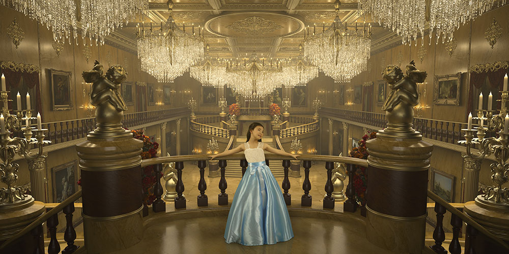 Cinderella girls portrait