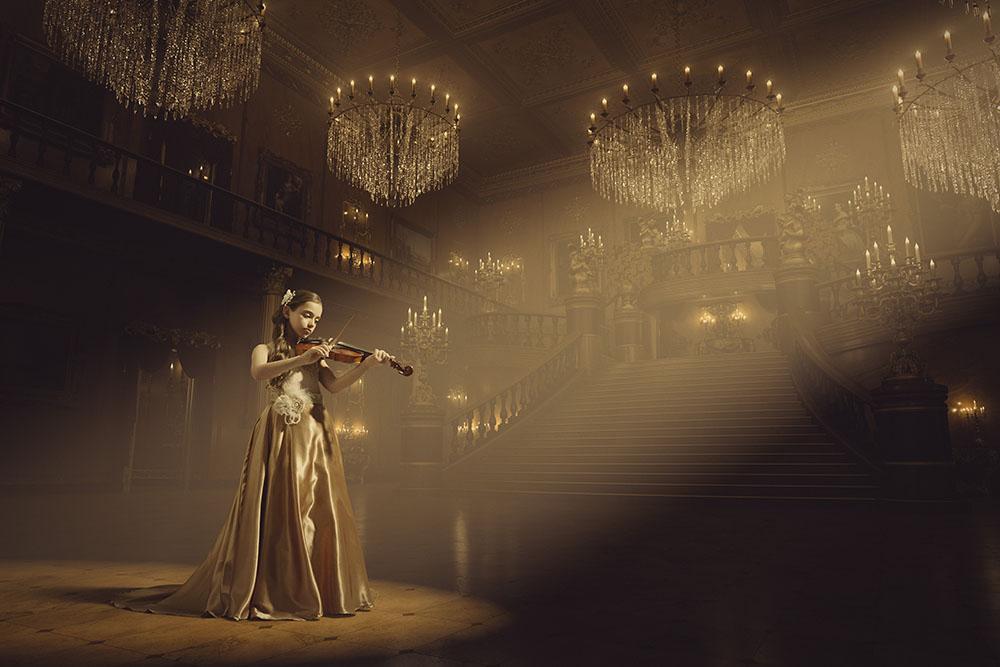 Cinderella room violin 1