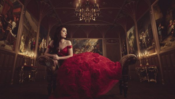 Red dress series photography 019
